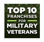 Top 10 Franchises for Military Veterans