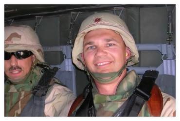 smiling veteran